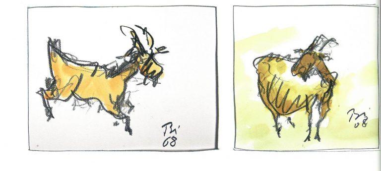Atelier Prof. Binding_Ziege2_bronze